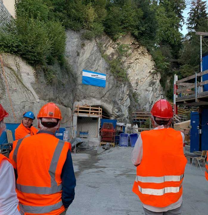 8. Musegg-Träff: Auf in den Baustellentunnel zum künftigen Erlebnisweg